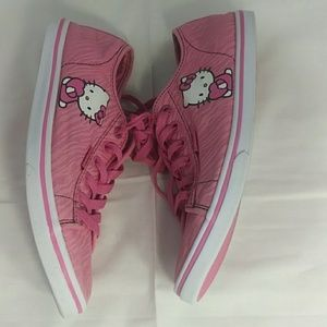 Hello Kitty Vans womens size 8 sneakers